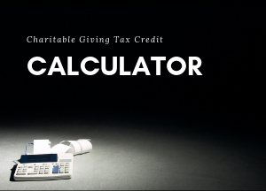 CRA Charitable Giving Tax Credit Calculator